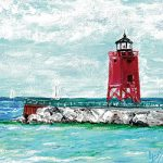 A Sunny Afternoon in Charlevoix Original Painting