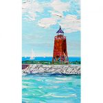 A Sunny Day in Charlevoix by Linda Boss