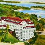 The Beach Hotel of Charlevoix by Linda Boss