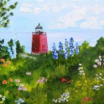 The Charlevoix Lighthouse Garden