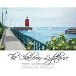 The Charlevoix Lighthouse from Hoffman Park
