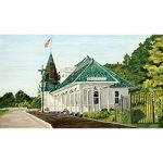 Charlevoix's Historic Railroad Depot by Linda Boss