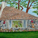 "Earl Young's ""Hobbit House"" Half House on Park Ave Charlevoix by Linda Boss"
