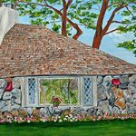 Earl Young's Hobbit House the Half House on Park Ave Prints by Linda Boss