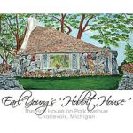 Earl Young's Hobbit House-The Half House on Park Avenue Charlevoix