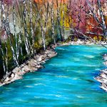 The Jordan River - Print by Linda Boss