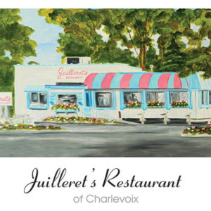 Juilleret's Restaurant of Charlevoix Note Card