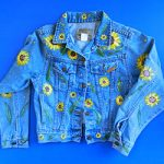 Sunflower Jean Jacket by Linda Boss