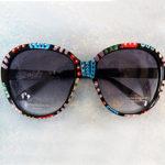 Hand Painted Sunglasses #7