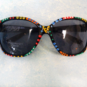 Hand Painted Sunglasses #8